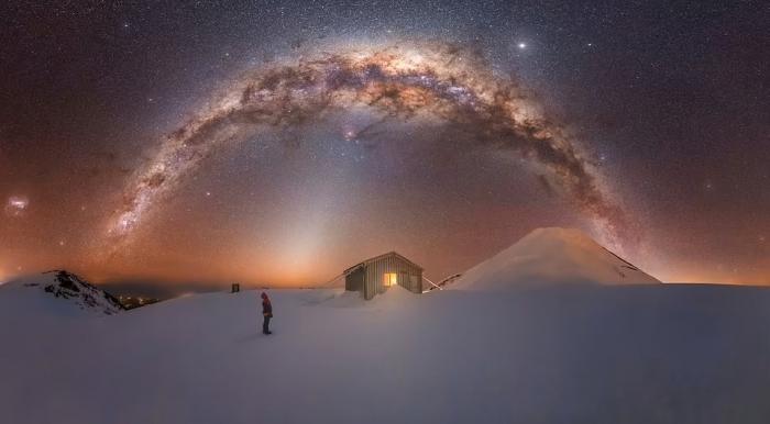Потрясающие фотографии победителей конкурса «Фотограф года Млечного пути 2021»