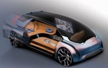 К 2050 году машины будут произвольно менять цвет и ездить самостоятельно с кроватями вместо сидений