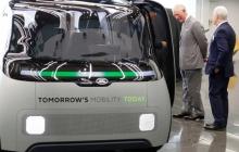 JAGUAR Land Rover показал электрическую беспилотную машину, которая появится на дорогах Англии уже в следующем году