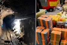Федералы нашли туннель для контрабанды наркотиков длиной в полмили с освещением и железной дорогой внутри него
