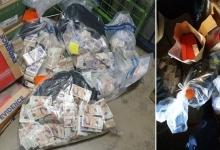 Полиция обнаружила 1 000 000 фунтов стерлингов в доме подозреваемого после остановки его машины