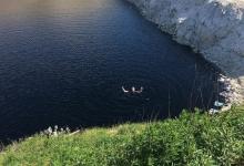 Мужчину поймали купающимся в печально известной «токсичной» Голубой лагуне