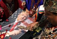 Перуанские шаманы используют ритуал предков для предсказания победителя выборов в США