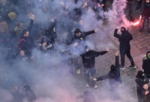 Митинг идёт по Праге - митинг идёт по правде!