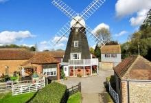 Историческая 200-летняя ветряная мельница превратилась в потрясающий дом c 3-мя спальнями, продающийся за £ 945 тыс