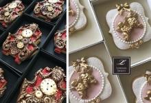 Кулинар изготавливает удивительно красивое печенье