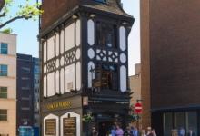 Жуткая история «безголового призрака» стоит за одним из самых узких пабов Лондона
