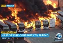 Удар по Шендеровичу: в США вспыхнул мощный пожар на фабрике по производству матрасов