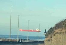 Мужчина был ошеломлен после того, как заметил «Плывущее судно у побережья Абердиншира