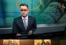 На латвийском телевидении показали формулу метамфетамина в ходе репортажа о вакцинах