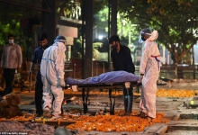 Число погибших от Ковида в Индии может быть в 10 раз выше, а крематории «сжигают гораздо больше жертв, чем проходит по отчетам»