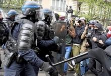 Митинг протеста в Вене превратился в побоище