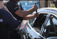 Полицейские Лондона спасают двух собак, умирающих от жары в оставленной машине