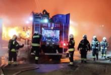 Пожар на заводе в Москве ликвидирован