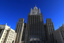 МИД России заявил протест послу Британии из-за инцидента в Чёрном море