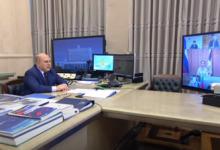 Мишустин проводит заседание президиума координационного совета по борьбе с COVID-19
