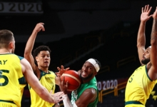 Австралия разгромила Нигерию в матче мужского олимпийского турнира по баскетболу