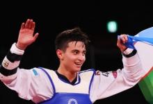 Узбекский тхэквондист Рашитов одержал победу на ОИ в Токио в категории до 68 кг