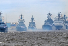 «У флота есть всё для гарантированной защиты родной страны»: Путин поздравил моряков с Днём ВМФ России
