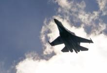 Су-35 с отказавшим двигателем упал в акватории Охотского моря
