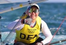 Яхтсменка Риндом завоевала золото ОИ в классе «Лазер Радиал»