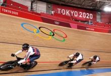 Россияне уступили австралийцам в командном спринте в велотреке на ОИ в Токио