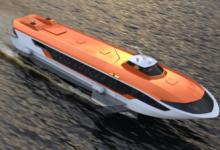 В Нижегородской области спустили на воду «Метеор 120Р» на подводных крыльях