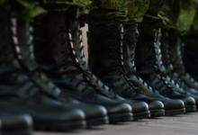 Мотострелки ЦВО провели учения в горном ущелье Западного Саяна