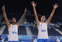 Первопроходцы: пляжные волейболисты Красильников и Стояновский вышли в финал Олимпиады