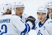 Дубль Галиева принёс «Динамо» победу над «Сибирью» в матче КХЛ