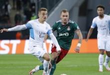 «Локомотив» сравнял счёт в матче Лиги Европы с «Марселем»