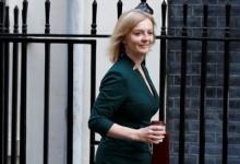 Новый министр иностранных дел Британии Лиз Элизабет Трасс отправилась в США