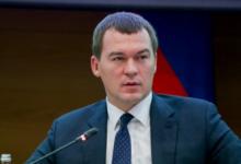 Дегтярёв лидирует на выборах главы Хабаровского края