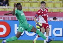 «Монако» обыграл «Сент-Этьен» в матче Лиги 1