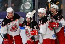 «Витязь» прервал семиматчевую серию поражений в регулярном чемпионате КХЛ