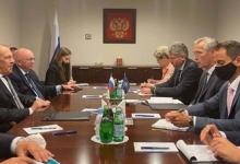 Лавров провел переговоры со Столтенбергом