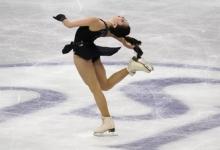Туктамышева исполнила три тройных акселя на тренировке перед первым этапом Кубка России