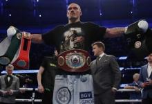 Промоутер Усика рассказал, что боксёр не расстроился, узнав о реванше с Джошуа