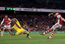 «Арсенал» на 95-й минуте вырвал ничью в матче АПЛ с «Кристал Пэлас»