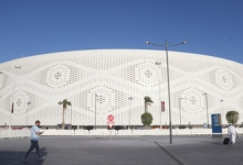 В Катаре открылся очередной стадион к ЧМ-2022 по футболу