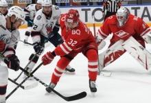 «Спартак» одержал пятую победу подряд в КХЛ